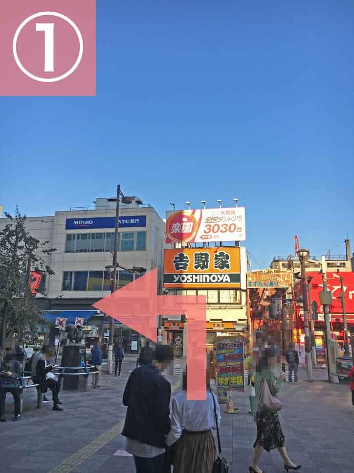大宮駅からゲートウェイスタジオへの行き方1