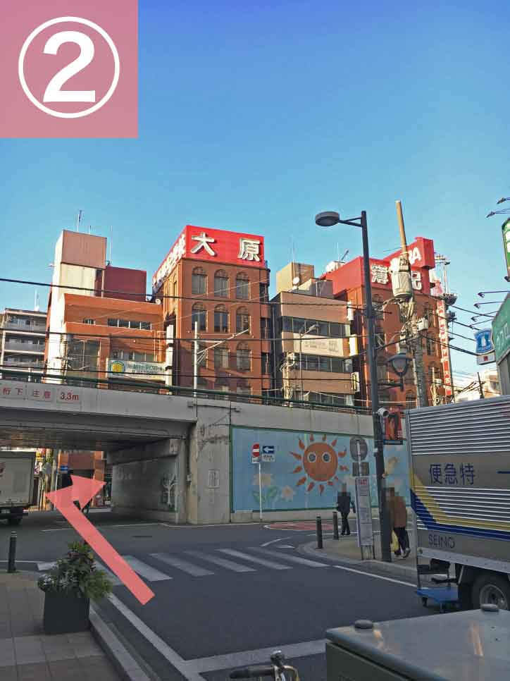 大宮駅からゲートウェイスタジオへの行き方2