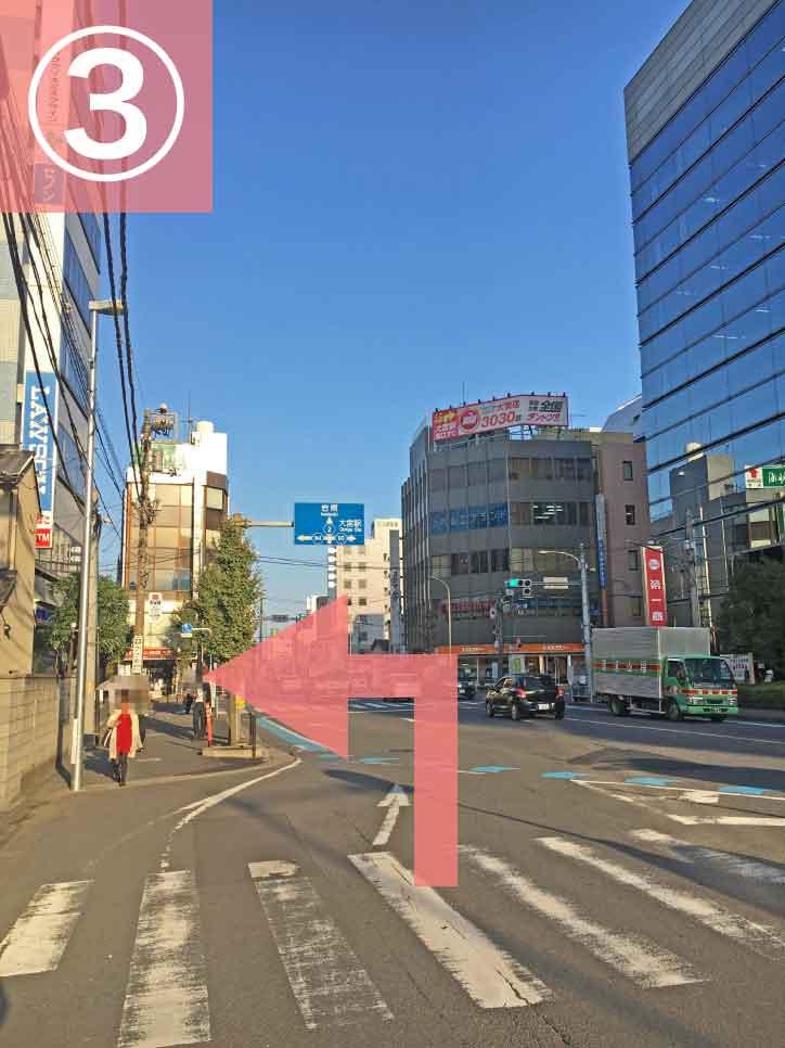 大宮駅からゲートウェイスタジオへの行き方3