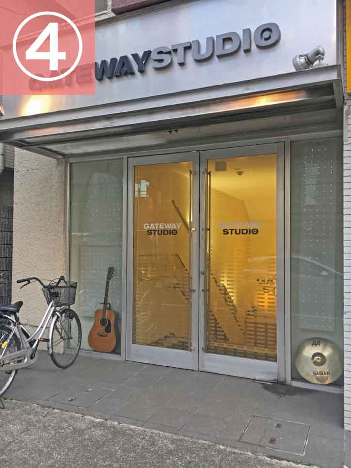 大宮駅からゲートウェイスタジオへの行き方4