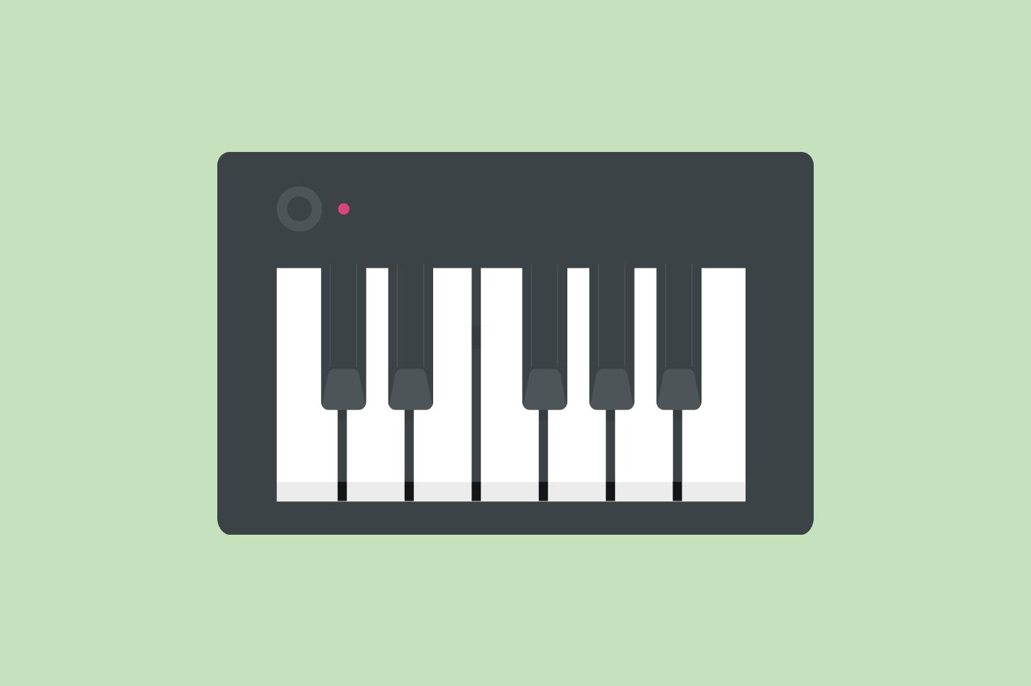 ピアノ、キーボードの各部名称・解説